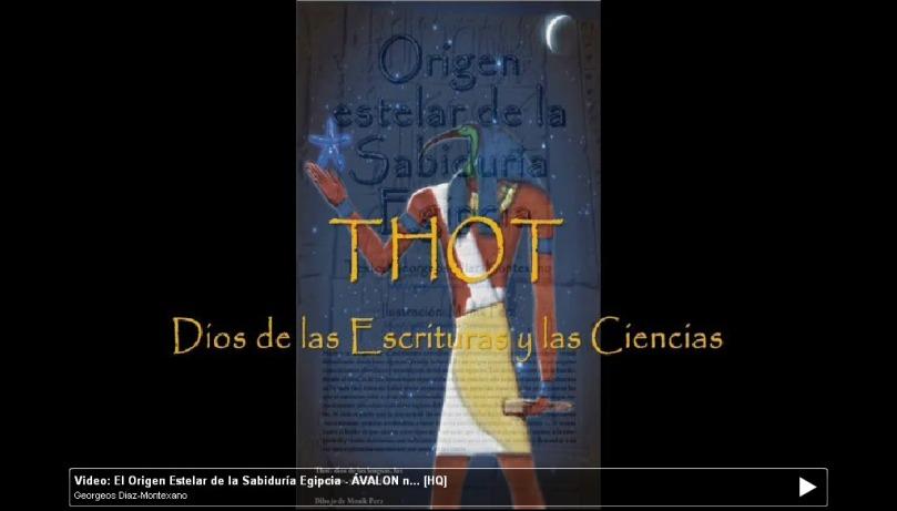 Video: El Origen Estelar de la Sabiduría Egipcia - Revista ÁVALON - Monik Perz y Georgeos Díaz-Montexano (2010)