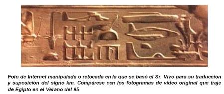 Grandes mentiras, falacias y errores de ignorancia de Colin Rivas sobre la Atlántida y el Antiguo Egipto - Los Jeroglíficos de Abydos