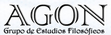 1. AGON. Grupo de Estudios Filosóficos. AGON. Grupo de Estudios Filosóficos. Fundada en la Universidad de Barcelona.