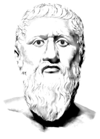 Platón. autora: Monik Perz, 2009 (www.MonikPerz.com.ar)