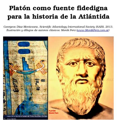 Georgeos Díaz-Montexano: Platón como fuente fidedigna para la historia de la Atlántida