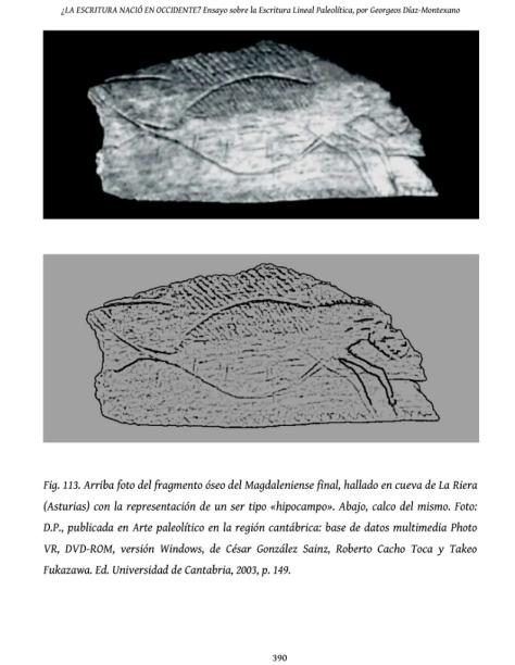 Hallado en Asturias: El hipocampo: el primer ser mitológico de la historia
