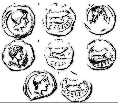 Más imágenes de las monedas de CELTITAN.