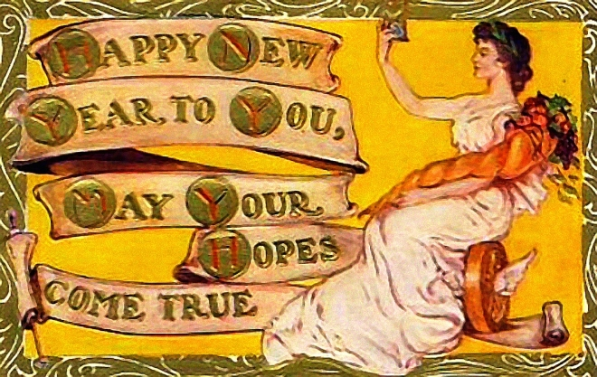 Dea Fortuna - A Happy New Year