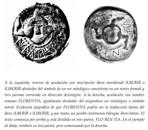 Monedas de Iliberir o Ilberir - Iliberria o Iliberia