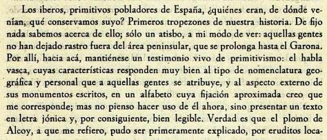 Sobre la lengua íbera, según Gómz-Moreno