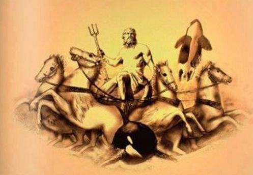 Poseidón y el caballo. Una antigua religión occidental.