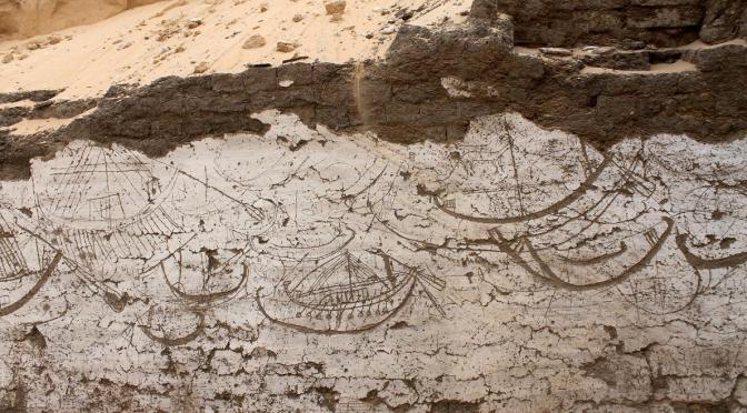 ¿Nueva evidencia egipcia sobre la tradición de la Atlántida?  La numerosa flota de barcos de Sesostris III