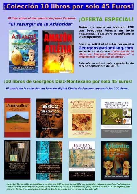 ¡Colección 10 libros de Georgeos Díaz-Montexano por solo 45 Euros!